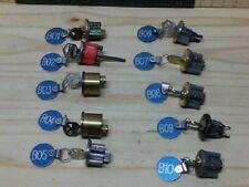 10 PCS. KWIKSET PROGRSSIVE  LOCK SET...LEARN TO PICK SPOOLS & SERRATED PINS