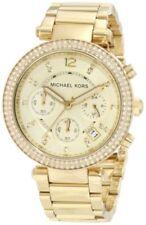 Relojes de pulsera de oro de acero inoxidable para mujer