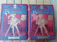 Rabelais illustree par Robida edition originale Paris Librairie illustree