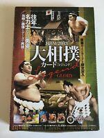 BBM Sumo Wrestler Trading Card 2013 Legend - GLORY -  72cards Complete set Japan