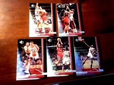 "1996-97 SP #16 Michael Jordan & CHICAGO BULLS ""Holo"" **TEAM SET**"