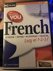 French Pc CD-ROM Teaching You French