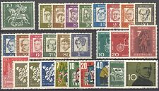 BUNDESPOST - 1961 complete year MNH