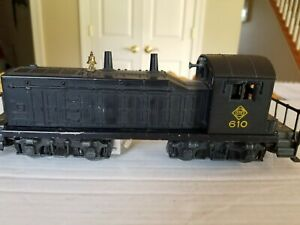 Lionel #610 Erie Switcher Diesel Switcher 027 1955 - Excellent & Serviced