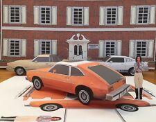 "Papercraft Charlies Angels T.V. show Ford Pinto hatchback ""PAPER"" Car EZU-make"