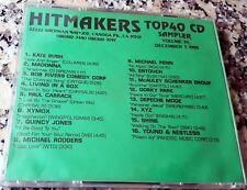 HITMAKERS TOP 40 CD SAMPLER 30 RARE DJ CD 1989 Depeche Mode Madonna Shine XYZ