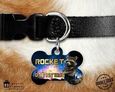 Personalised Pet Tag - Dog Tag - Dog ID Tag - Guardian's of the Galaxy Rocket
