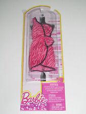 Kit Vêtements Robe de Soirée Rose Strass Barbie Mattel NEW