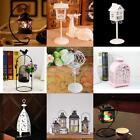 Vintage Tealight Candle Holder Candlesticks Lantern Wedding Desk Hanging Decor