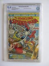Amazing Spider-Man # 125 - CBCS NEAR MINT 9.4 NM - Origin of Man Wolf! MARVEL