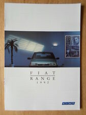 FIAT RANGE 1992 UK Mkt brochure - Panda Uno Tipo Tempra Croma