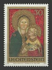 Liechtenstein Mi.Nr. 595** (1973) postfrisch/Weihnachten