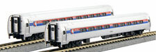 KATO 1068013 N SCALE 2 CAR SET B AMTRAK Phase I Coach-Cafe 106-8013 - NEW