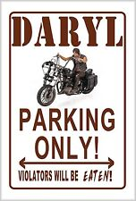 L@@K! Daryl Dixon Walking Dead Parking sign