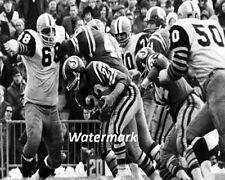 CFL 1970's QB Ron Lancaster Saskatchewan Roughriders vs Ti Cats  8 X 10 Photo