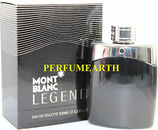 Mont Blanc Legend by Mont Blanc 3.3 / 3.4 oz Eau De Toilette Spray for Men New