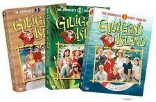 Gilligan's Island: Complete Bob Denver TV Series Seasons 1 2 3 Box/DVD Set(s)