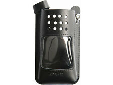 2 x GME LC007 LEATHER CASE TO SUIT TX6150 TX6155 TX685 UHF HANDHELD RADIOS