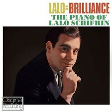 LALO SCHIFRIN - LALO=BRILLIANCE (NEW SEALED CD) ORIGINAL RECORDING