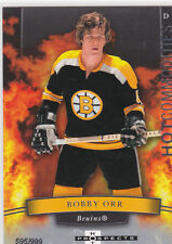 2007-08 HOT PROSPECTS HOT COMMODITIES BOBBY ORR /999 105 BRUINS