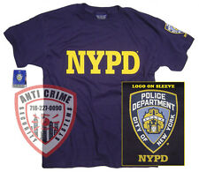 NYPD Shirt T-Shirt Authentic Apparel Merchandise Gifts Gear Womens Mens Apparel