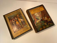 Rare & 1st Edition Lot of 2 Illustrated Scribners Hardcover Classic Books 1927