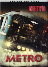 METRO / МЕТРО RUSSIAN DRAMA THRILLER ENGLISH SUBTITLES BRAND NEW DVD NTSC