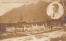 2758) AVIAZIONE DOMODOSSOLA 1913 BIELOVUCIC E L'AEREO VINCITORE TRAVERSATA ALPI.