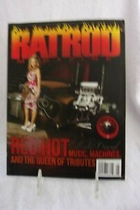 RAT ROD MAGAZINE #30 APRIL/MAY 2015 RED HOT MUSIC & QUEEN OF TRIBUTES