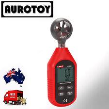 UT363 Digital LCD Anemometer Air Wind Speed Gauge Temperature Test Meter OZ