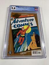 Millennium Edition Adventure Comics 61 Cgc 9.8 Dc Comics 1st Starman