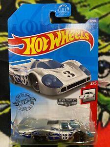 Hot Wheels 2020 Porsche 917 LH Zamac 006 USA Walmart Exclusive Race Car