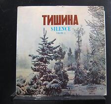 Tishina - Silence Vol 2 LP VG- PM-215 Mono Universal 1960 USA Vinyl Record