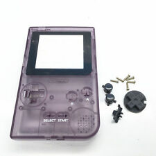 Replacement Repair Case/Shell/Housing Game Boy Pocket [GBP] [Transparent Purple]