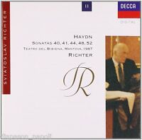 Haydn: Piano Sonatas (Sonate) 40,41, 44,48, 52 / Sviatoslav Richter - CD Decca