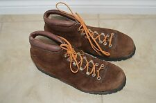 Vintage Fabiano THE ALPS Suede Hiking Boots 7 1/2 M ITALY Women's Climbing