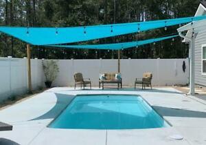 Fiberglass Swimming pool  Praia 12 w/ kit ( 9.9 x 22.9 x 4.6 deep )