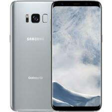 Samsung Galaxy S8 - 64GB - Factory Unlocked; Verizon / AT&T - Silver - Good