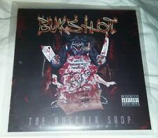 NEW BUKSHOT THE BUTCHER SHOP CD GOTJ 2015 LIMITED BOONDOX TWIZTID ICP CRUCIFIX