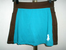 Women's Runningskirts.com Turqouise/Brown Running/Tennis Skirt Sz 2 (approx 4-6)