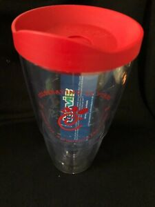 NEW Chick-fil-A 24 oz ounce TERVIS Tumbler Travel Cup Red Lid Celebrating 20 Yrs