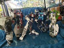 Transformers Cybertron, & Armada Lot of LARGE TF, Primus Starscream Tilde Wave +