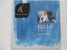 Christina Aguilera: Hello (Follow your own star.) - Promo 2 Track Single CD RARE