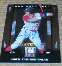 Brewers Kirk Nieuwenhuis RC Autographed Card