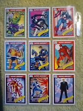 1990 Marvel Comics Trading Cards-Full Set #1-162