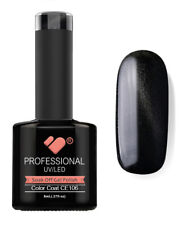 CE106 VB™ Line Cat Eye Black Metallic - UV/LED soak off gel nail polish