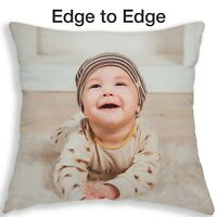 Personalised Cushion Photo Pillow Free Filling Edge - Edge Photo Printed Pillow