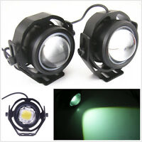 2x 10W Cool White U2 CREE High Power LED DRL Projector Daytime Driving Fog Light