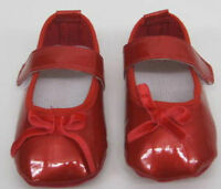 Baby Toddler Girls Red Patent Shoes first shoes 3 months pram new pram