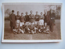 Unknown Edwardian Football Team - Vintage Real Photo Postcard